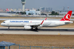 TC-JSI Turkish Airlines, Airbus A321-231 named TUNCELI Royalty Free Stock Photo