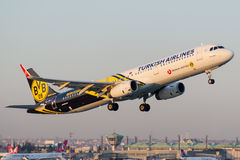 TC-JSJ Turkish Airlines, Airbus A321-231 named KECIOREN Royalty Free Stock Photos