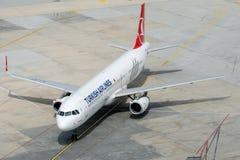 TC-JST Turkish Airlines, Aerobus A321-231 zwany DIYARBAKIR Fotografia Royalty Free