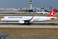 TC-JSV Turkish Airlines, Airbus A321-231 named ILGIN Royalty Free Stock Photo