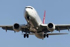 TC-JSZ Turkish Airlines Boeing 737-8F2 Bolu Foto de archivo libre de regalías