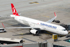 TC-JTA Turkish Airlines , Airbus A321-231 named GELIBOLU Stock Photo