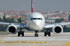 Tc-JYD Turkish Airlines Boeing 737-9F2 BAYBURT Stock Foto's