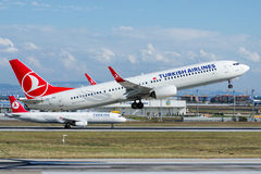 TC-JYE Turkish Airlines Boeing 737-9F2 TUZGOLU Stock Photos