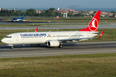 TC-JYM Turkish Airlines, Boeing 737-9F2/ER som namnges INCEBURUN Royaltyfria Bilder