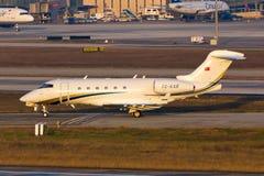 TC-KAR επιχειρησιακό αεριωθούμενο αεροπλάνο Στοκ εικόνες με δικαίωμα ελεύθερης χρήσης