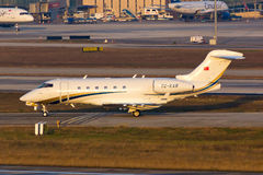 TC-KAR Business Jet Royalty Free Stock Images