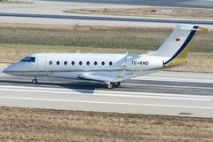 TC-KHD, Gulfstream G280 стоковое фото