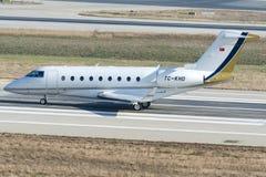 TC-KHD, Gulfstream G280 Stock Photo