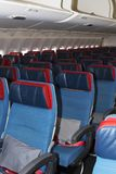 TC-LJA土耳其航空波音777-300ER经济舱位子 图库摄影