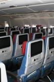 TC-LJA土耳其航空波音777-300ER经济舱位子 库存图片