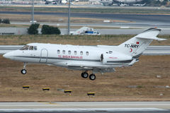 TC-NRY Turkey-Ministry of Health , Raytheon Hawker 900XP Royalty Free Stock Images