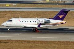 TC-SAB Doysa Air, Bombardier-CL600-2B16 Challenger 605 Stock Photos