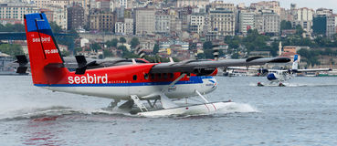 TC-SBO Seabird Airlines De Havilland Canada DHC-6-300 Twin Otter Royalty Free Stock Photo