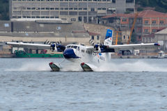 TC-SBU Seabird linii lotniczych De Havilland Kanada DHC-6-300 bliźniaka wydra Obrazy Stock