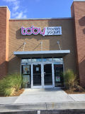 Tcby frozen yogurt store Royalty Free Stock Image