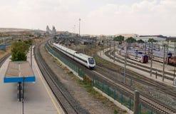 TCDD (οι τουρκικοί κρατικοί σιδηρόδρομοι) Στοκ εικόνα με δικαίωμα ελεύθερης χρήσης