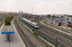 TCDD (los ferrocarriles turcos del estado) Imagen de archivo libre de regalías