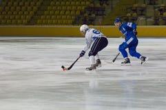 A. Tceller(25) and M. Sveshnikov Stock Photos