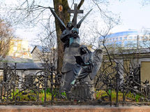 tchaikovsky坟茔 免版税库存图片