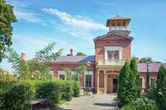 Tchaikovsky房子在塔甘罗格,俄罗斯 免版税库存照片