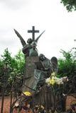 Tchaikovsky ` s grób przy Tikhvin cmentarzem fotografia stock