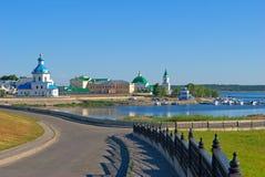 Tcheboksary, République de Chuvash, Fédération de Russie. Photographie stock libre de droits