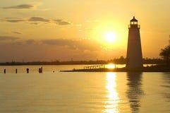 Tchefuncte River Lighthouse royalty free stock photos