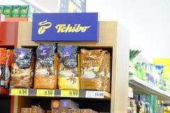 Tchibo stand Stock Photo