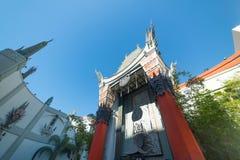 TCL中国剧院在好莱坞 库存图片