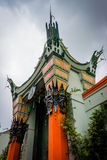 The TCL Chinese Theatre, in Hollywood. Los Angeles, California royalty free stock photography