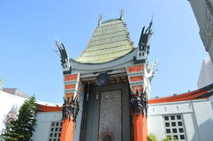 TCL Chinese Theatre. In Los Angels royalty free stock photo