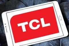 TCL Korporation logo Arkivbilder