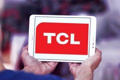 TCL Korporation logo Arkivfoton