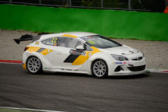 TCR International Series Opel Astra OPC at Monza 2015 Royalty Free Stock Photo