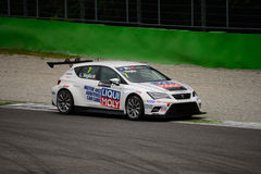 TCR International Series SEAT León at Monza 2015 Royalty Free Stock Images