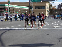 The 2016 TCS New York City Marathon 289. The race is organized by New York Road Runners Club and has been run every year since 1970, with the exception of 2012 royalty free stock images