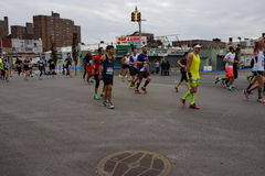 The 2015 TCS New York City Marathon 97 Royalty Free Stock Image