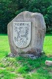 Tczew Polska, Czerwiec, - 18, 2017: Żakiet ręki Tczew miasto w Polska Obrazy Royalty Free