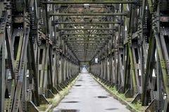 Tczew, Polska drogi most - Zdjęcia Royalty Free