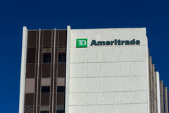 TD Ameritrade Building Royalty Free Stock Image