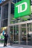 TD Ameritrade w NYC zdjęcia stock