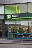 TD Bank Stock Photo
