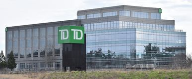 TD Bank N.A. Regional Headquarters Greenville SC. TD Bank N.A. Regional Headquarters in Greenville SC/USA is pictured. This is one of several bank buildings on stock photos