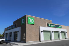 TD bank Royalty Free Stock Photos