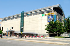 TD Garden, Boston, MA Royalty Free Stock Image