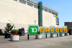TD Garden Sign Royalty Free Stock Image