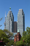 TD Towers, CN Tower and Flatiron Royalty Free Stock Images