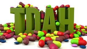 TDAH nieład Obrazy Stock