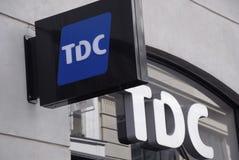 TDC ENTLASSEN 800 PERSÖNLICHE Lizenzfreies Stockbild